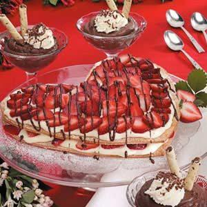 Sweetheart Custard Dessert