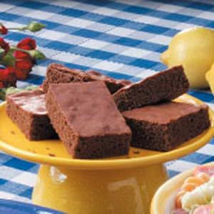 Cocoa Cake Brownies