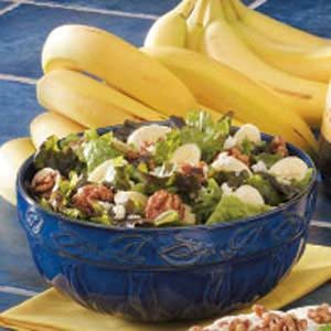 Banana-Nut Green Salad