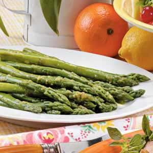 Orange-Glazed Asparagus