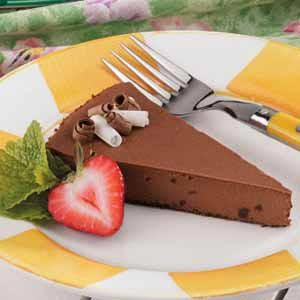 Light Chocolate Cheesecake