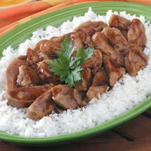 Pork Teriyaki