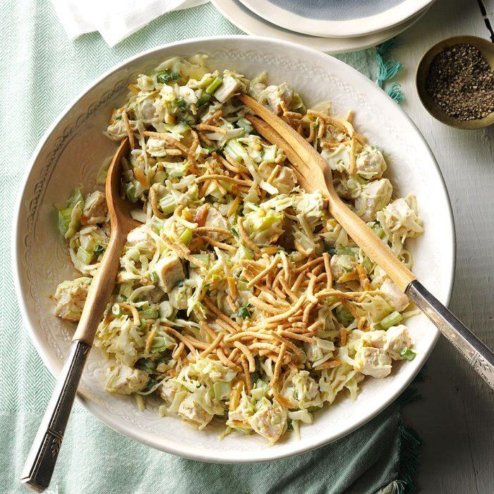 Tuesday: Turkey Almond Salad