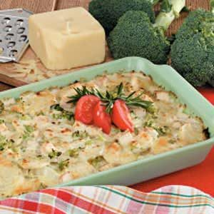Turkey Potato Tetrazzini