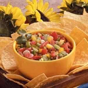 Fresh Vegetable Salsa