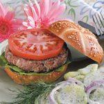 Spicy Turkey Burgers