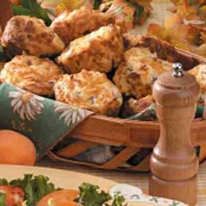Ham N Cheese Muffins
