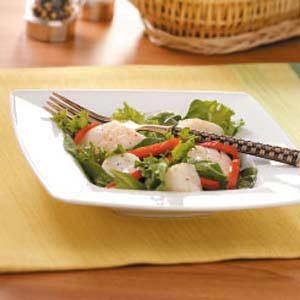 Warm Scallop Salad