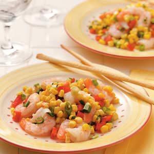 Corn and Shrimp Salad