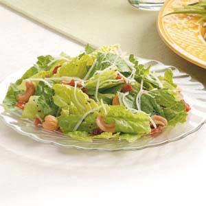 Bacon Swiss Romaine Salad