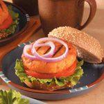 Teriyaki Salmon Burgers