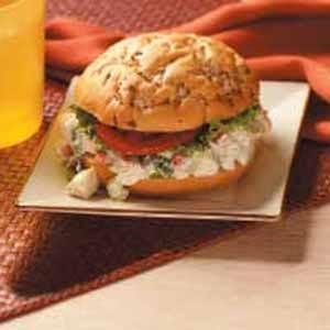Ranch Chicken Salad Sandwiches