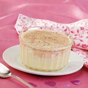 Macadamia-Crusted Custards