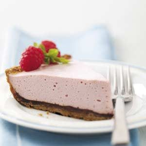 Chocolate-Raspberry Mousse Pie