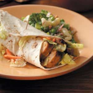 Flavorful Turkey Wraps