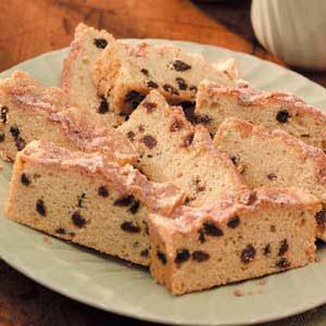 Raisin Snack Cake