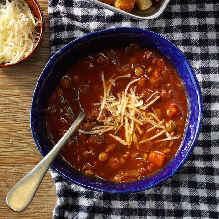 Tuesday: Italian-Style Lentil Soup