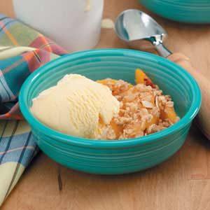 Peaches 'n' Cream Crisp