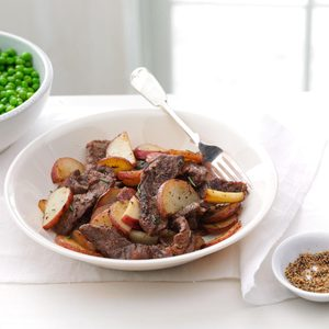 Skillet Beef and Potatoes