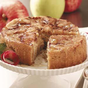 Cinnamon-Apple Honey Cake