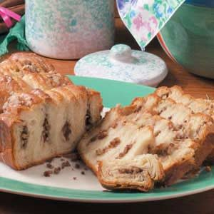 Tender Cinnamon Nut Loaf