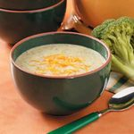 Cream of Broccoli Cheese Soup