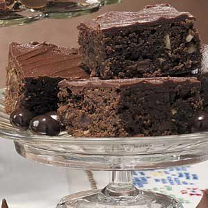 Hazelnut Mocha Brownies