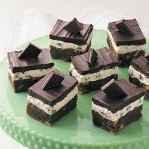 Irish Mint Brownies