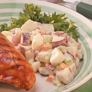 Creamy Potato Salad for Two