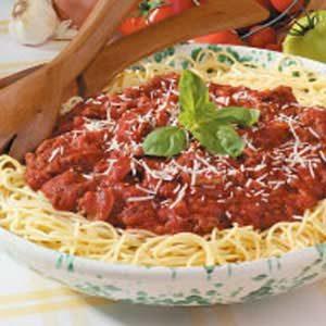 Spicy Spaghetti Sauce