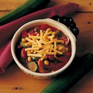 Contest-Winning Garden Harvest Chili