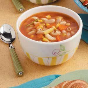 Macaroni Vegetable Soup