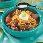 Tender Beef 'n' Bean Stew