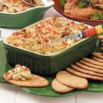 Warm Asparagus-Crab Spread