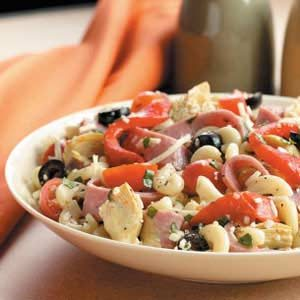Artichoke Turkey Salami Salad