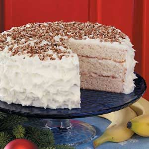 White Chocolate Banana Cake