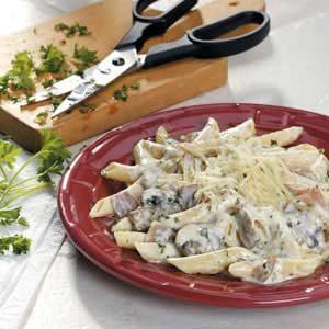 Mushroom Prosciutto Pasta