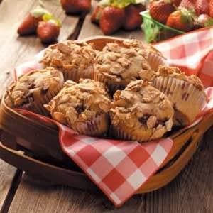 Almond Berry Muffins