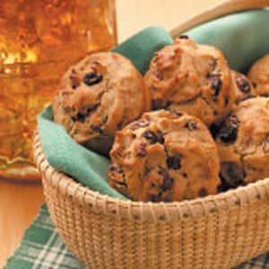 Raisin Rye Muffins