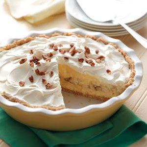 Banana Cheesecake Pie