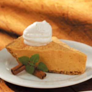 Pudding  Pumpkin Pie