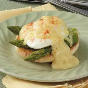 Asparagus Eggs Benedict