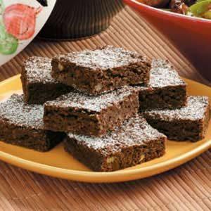 Walnut Oat Brownies