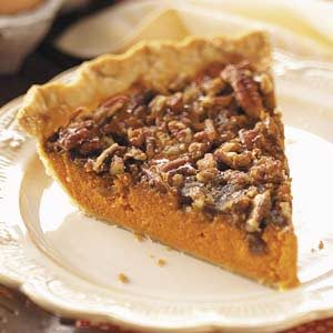 Pecan-Topped Carrot Pie