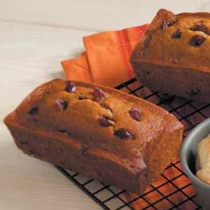 Cranberry and Spice Pumpkin Bread