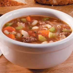 Ground Beef Vegetable Soup