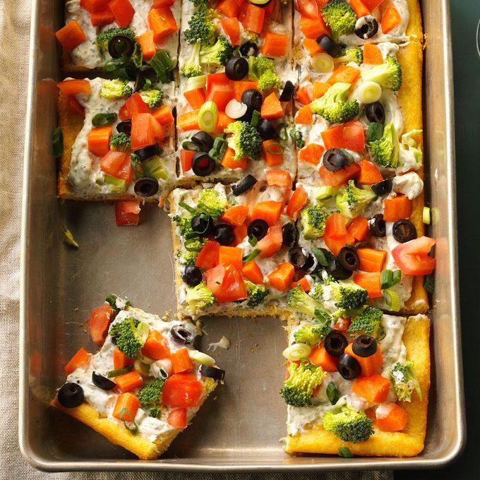 Dilly Veggie Pizza
