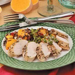Wild Rice Turkey Dinner