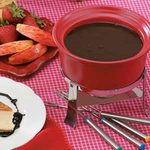 German Chocolate  Fondue
