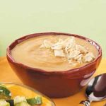 Butternut Squash Soup with Pecans
